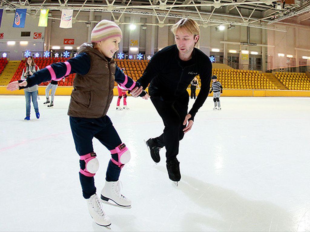 Академия фигурного катания Евгения Плющенко («Ангелы Плющенко») в Москве