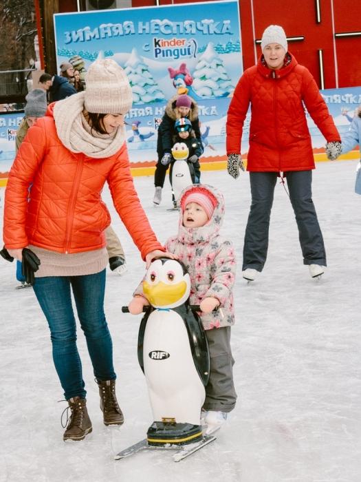 Дети с родителями в школе Алексея Ягудина