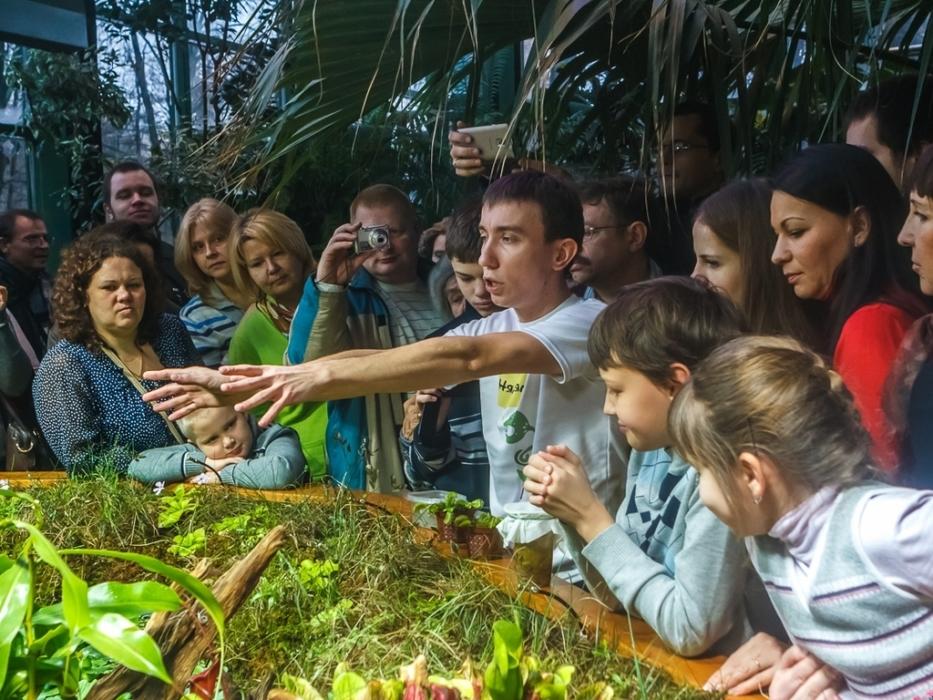 мастер класс Секреты хищных растений в ботаническом саду