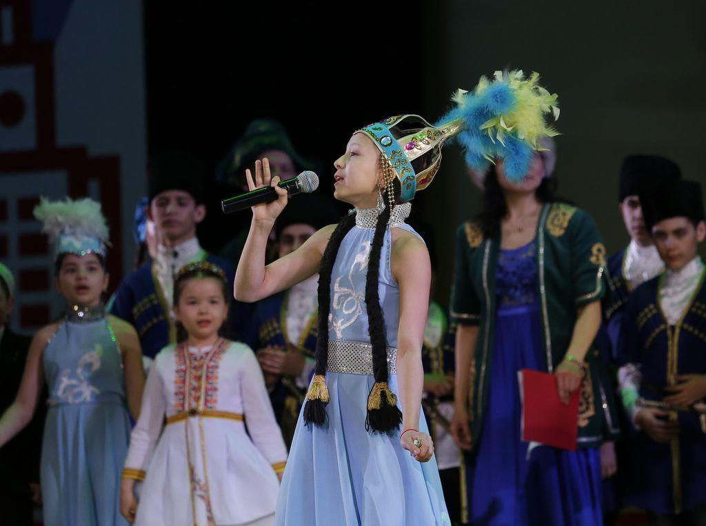 концерт на фестивале национальных культур «Мой дом - Москва»