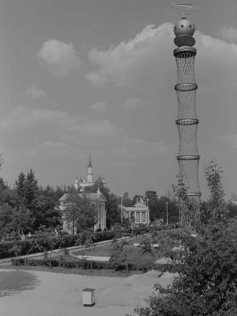 Башня Эль Лисицкого на ВДНХ