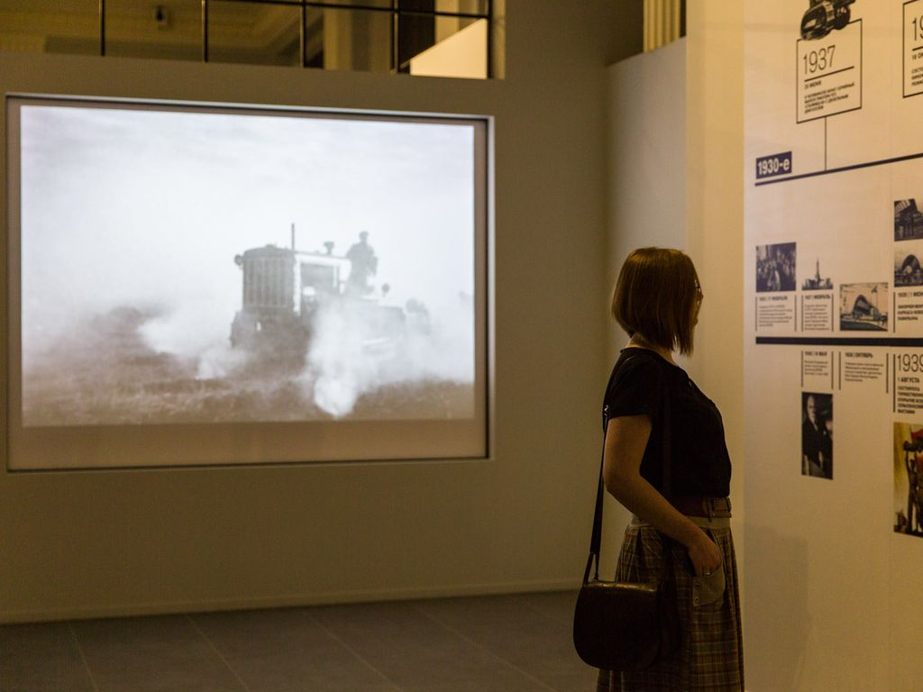 Интерактивная выставка на ВДНХ в Ночь искусств