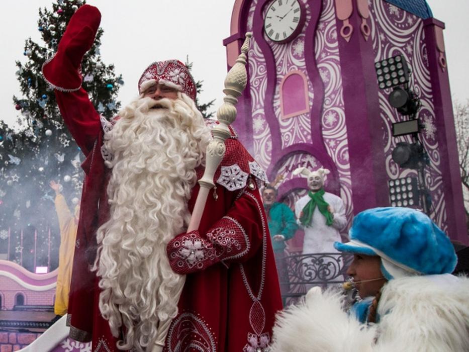 Новый год в в Московском зоопарке