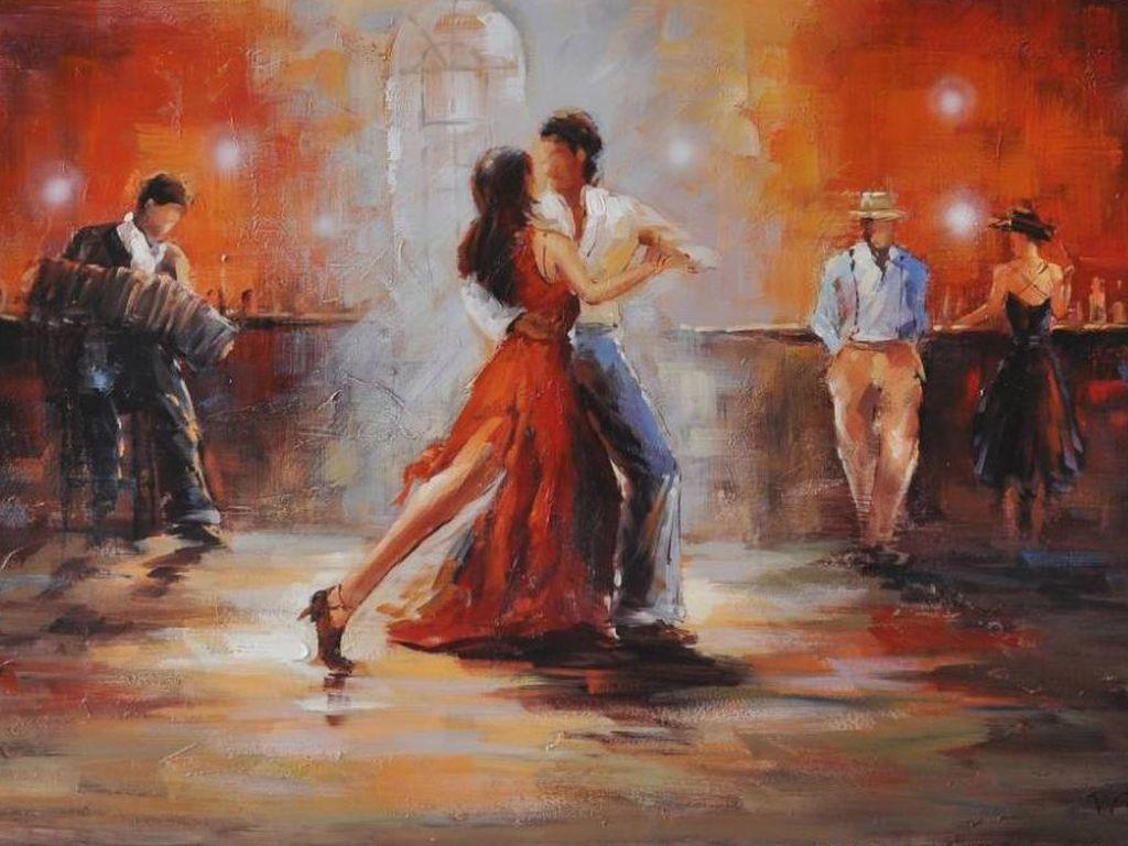 Обучения танцам Танго и латина в Измайловском парке