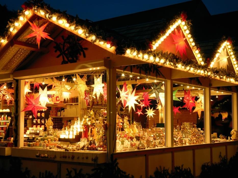 Рождественская ярмарка в Аптекарском огороде
