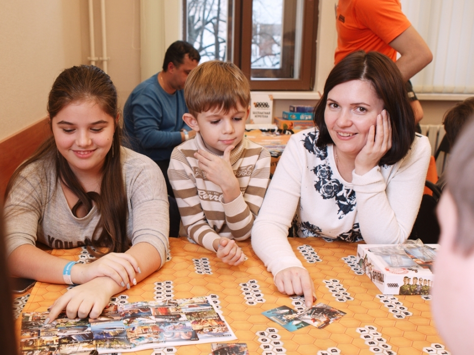 Игры на Семейный финансовом фестивале
