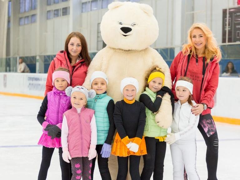 Школа фигурного катания Анастасии Гребенкиной в Москве