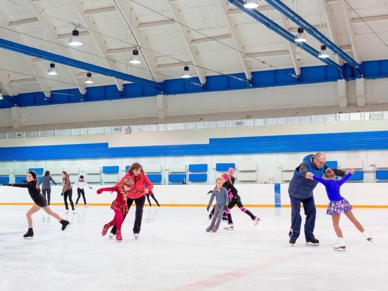 Школа фигурного катания Анастасии Гребенкиной для детей