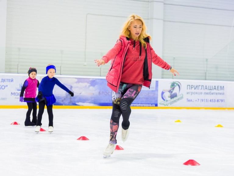 Школа фигурного катания Анастасии Гребенкиной занятия с Анастасией Гребенкиной
