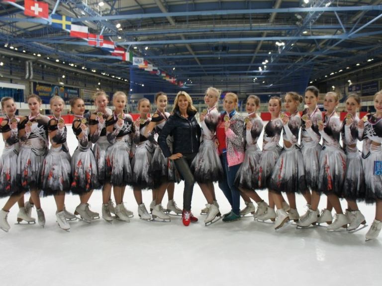 Школа фигурного катания для детей в Москве
