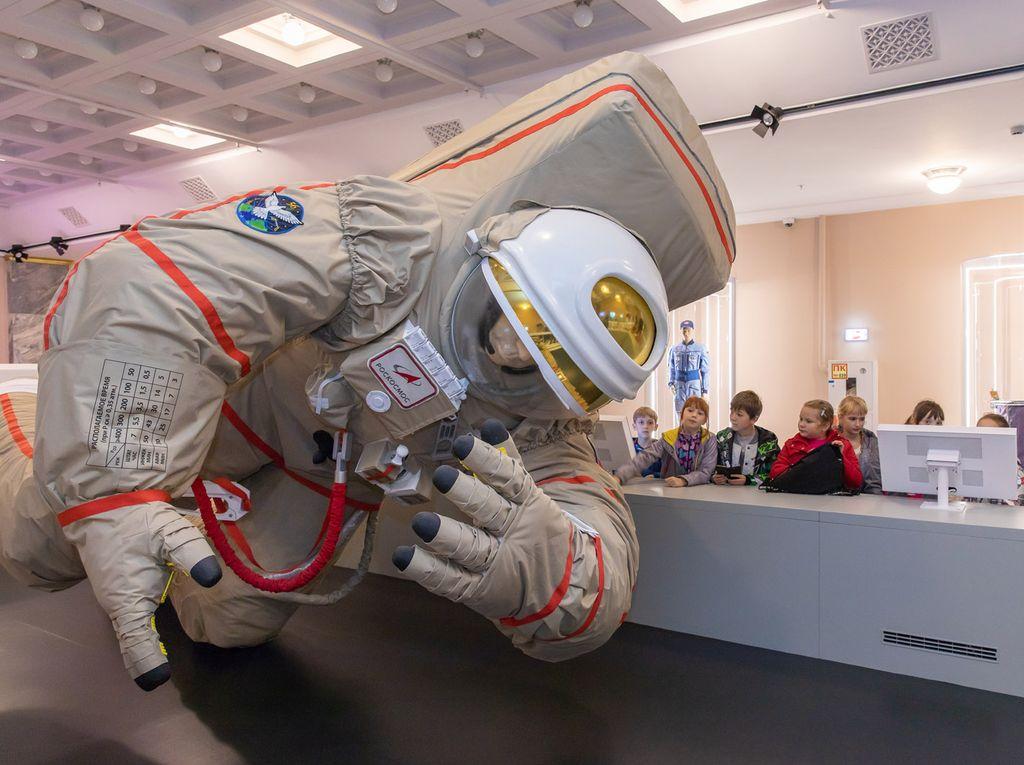 В центре «Космонавтика и авиация»