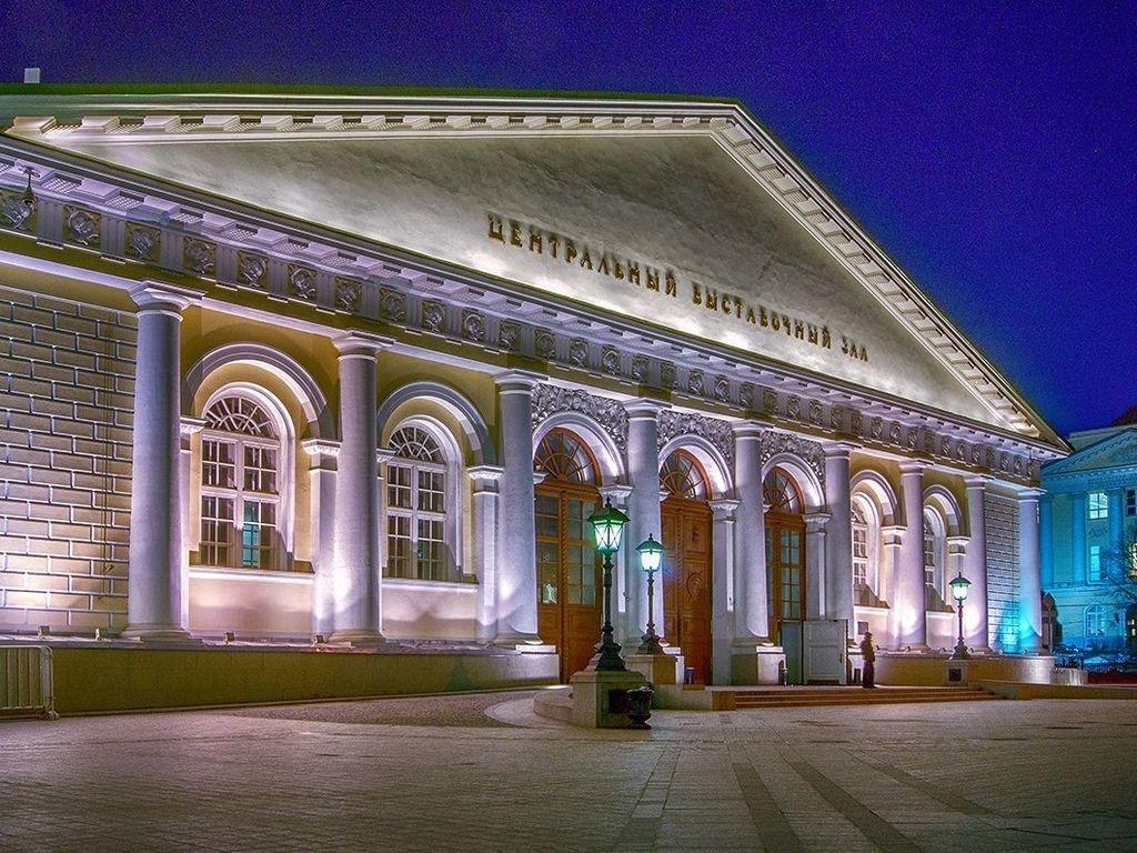 Выставка Сокровища музеев в ЦВЗ Манеж