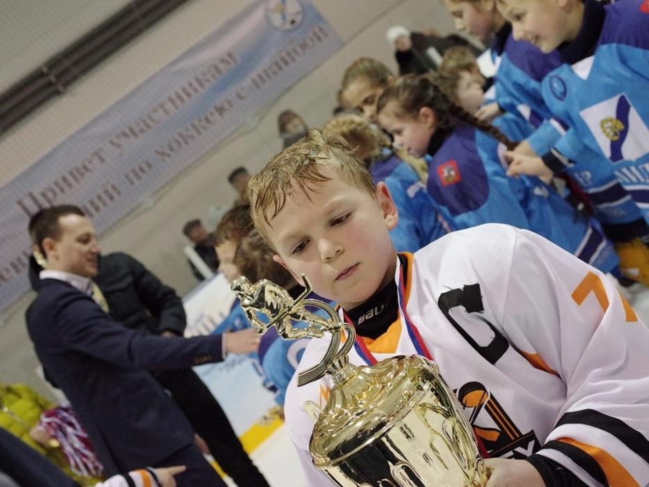 Первые победы с хокейной школой Hockey Way вХимках