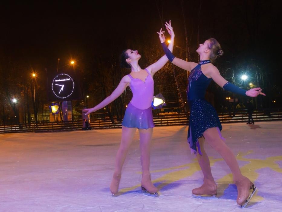 Ледовое шоу Измайловском парке