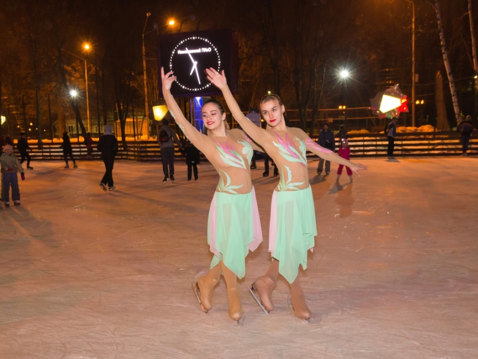 Ледовое шоу на открытие зимнего сезона в Измайловском парке