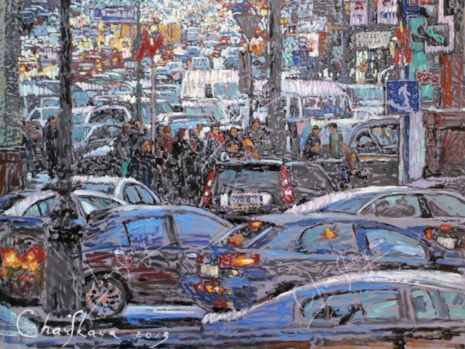 Выставка Москва в творчестве художников