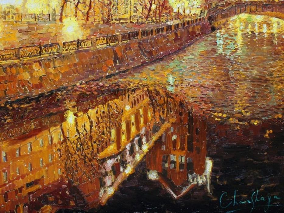 Картина художницы Людмилы Чарской