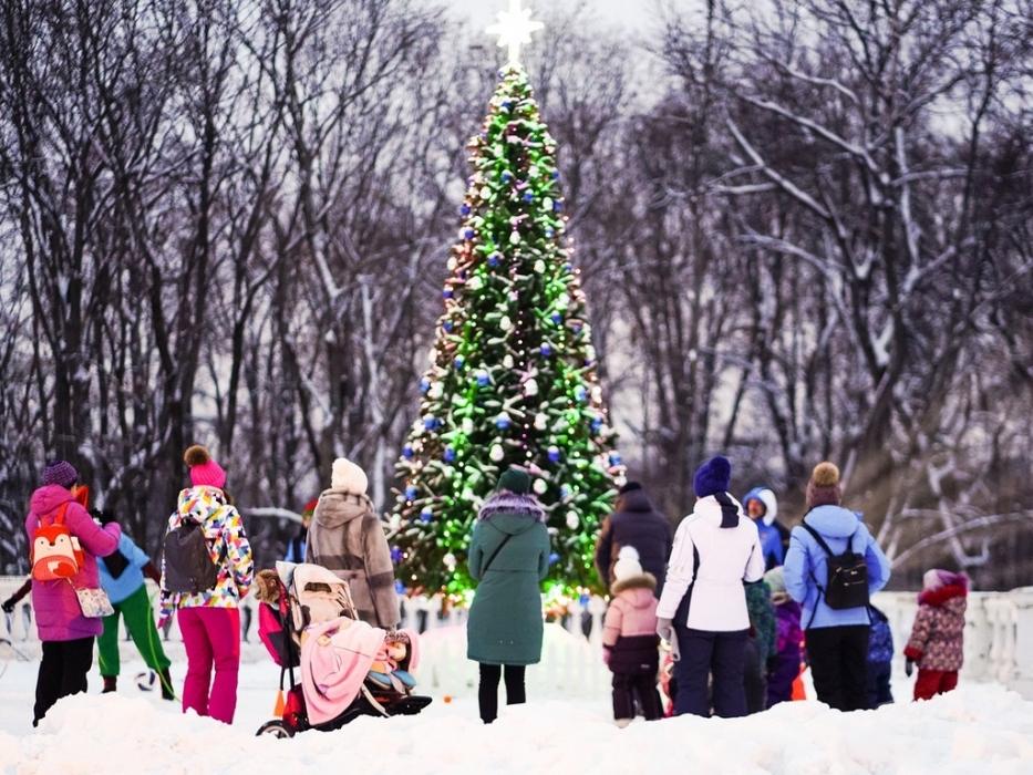 Два Рождества в музее-усадьбе Архангельское