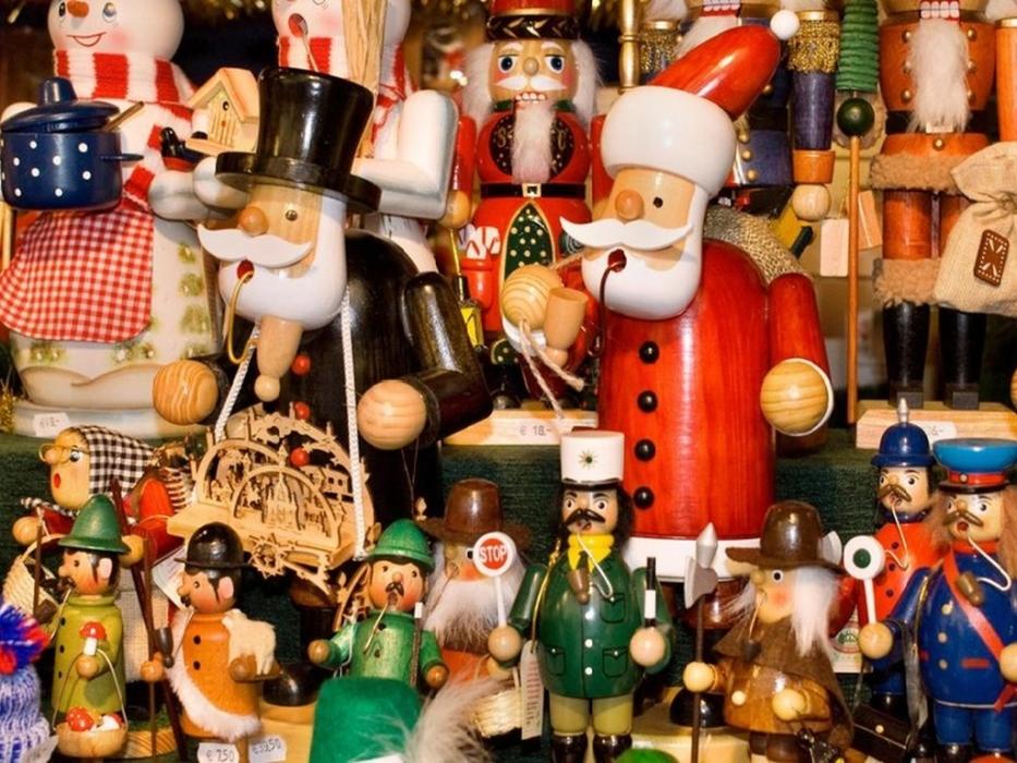 развлечения для детей на итальянской ярмарке Mercatino di Natale