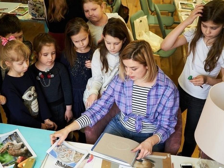 Новогодний мастер-класс по пастели для детей Путешествие на Северный полюс