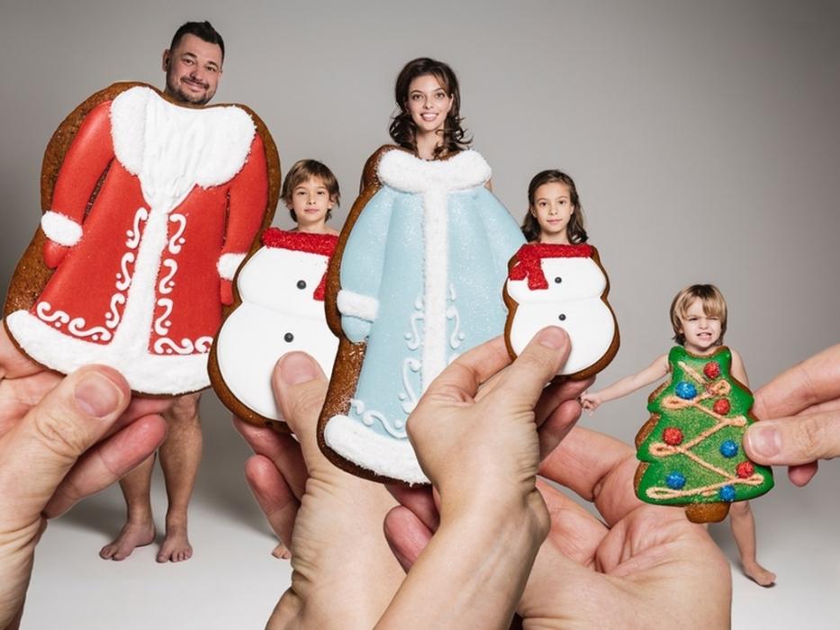 Новогодние елки от сети семейных кондитерских «Любовь и Сладости»