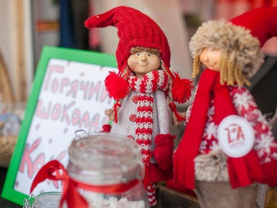 Новогодняя ярмарка «Мякиш» на Хлебзаводе