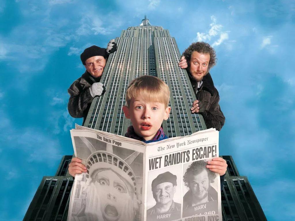 новогодние фильмы Один дома 2
