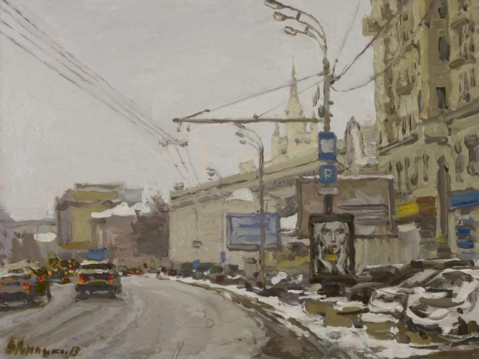 """Выставка в Музее- заповеднике Измайлово """"Москва в творчестве художников"""""""