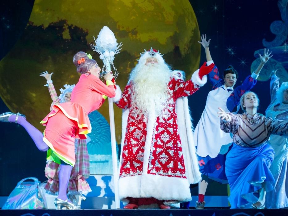 Новогоднее шоу  «Главный секрет Деда Мороза»