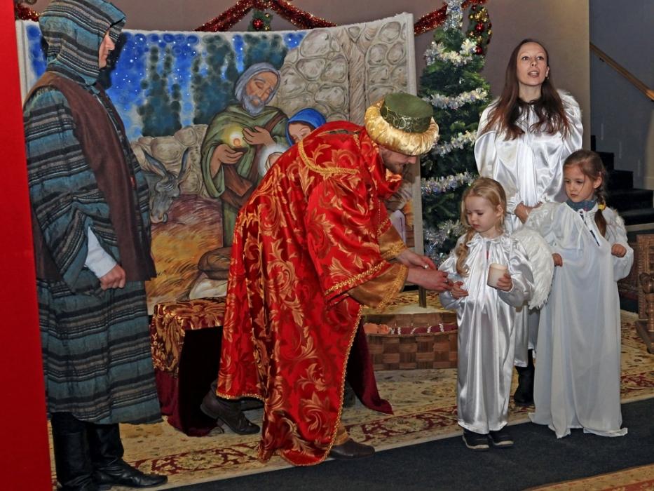Новогодние и рождественские в Коломенском
