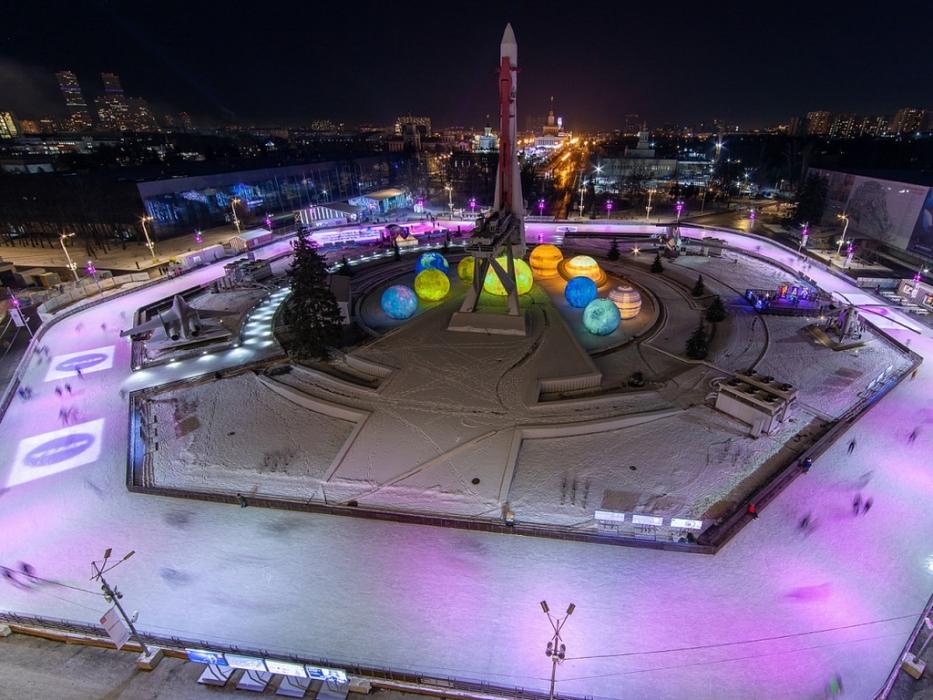 ВДНХ Город зимы