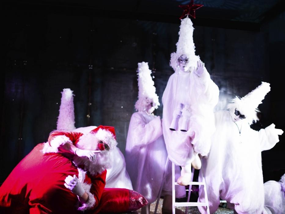 Театральное представление в Таганском парке