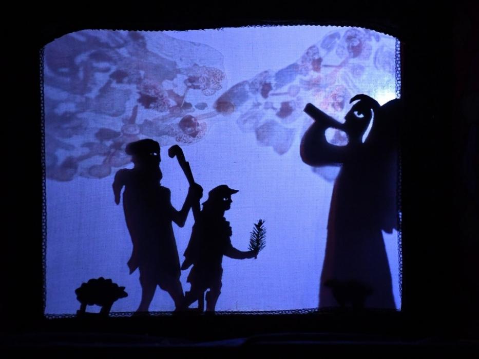 Спектакль Мишка и Рождество