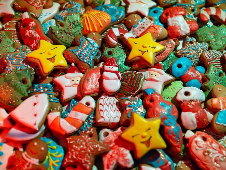 На технограде приготовили новогодние сладости
