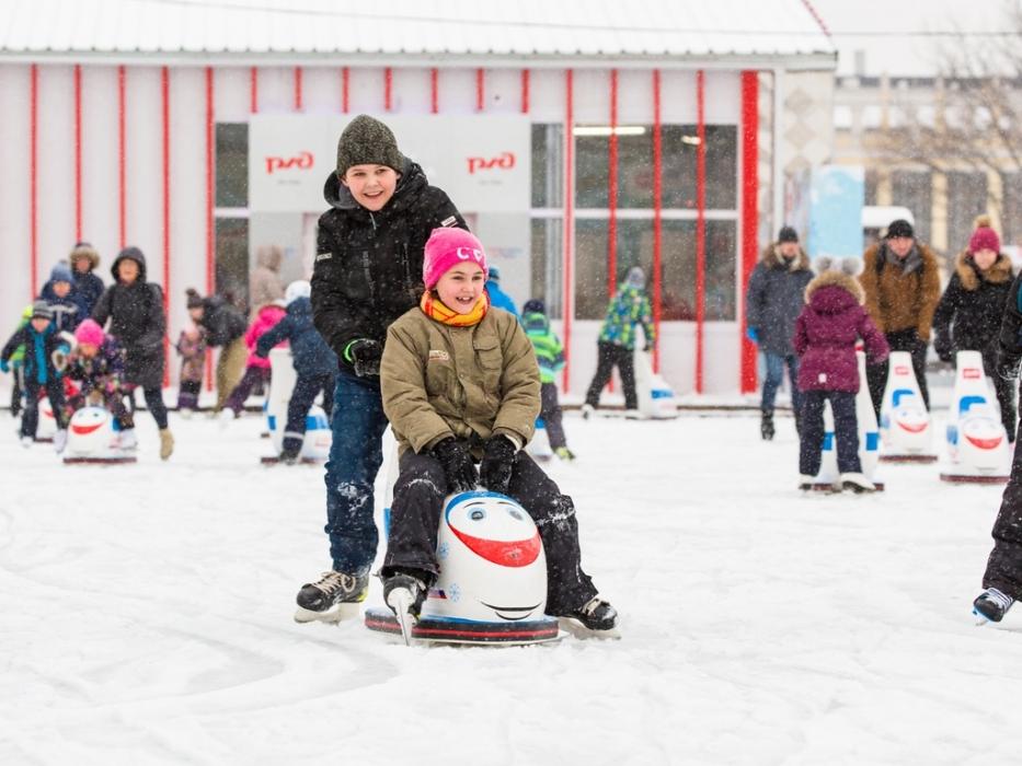 Выходные в Городе зимы на ВДНХ