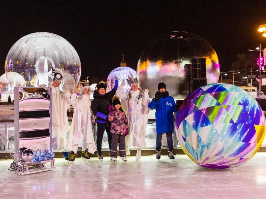 Город Зимы на ВДНХ выходные