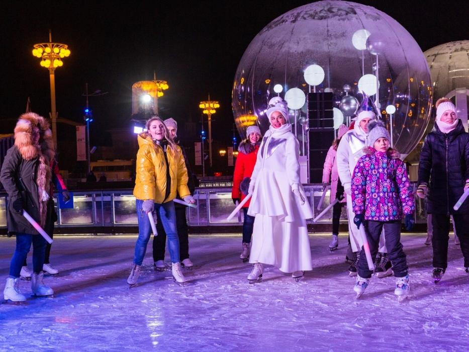 Выходные в Городе зимы для всей семьи