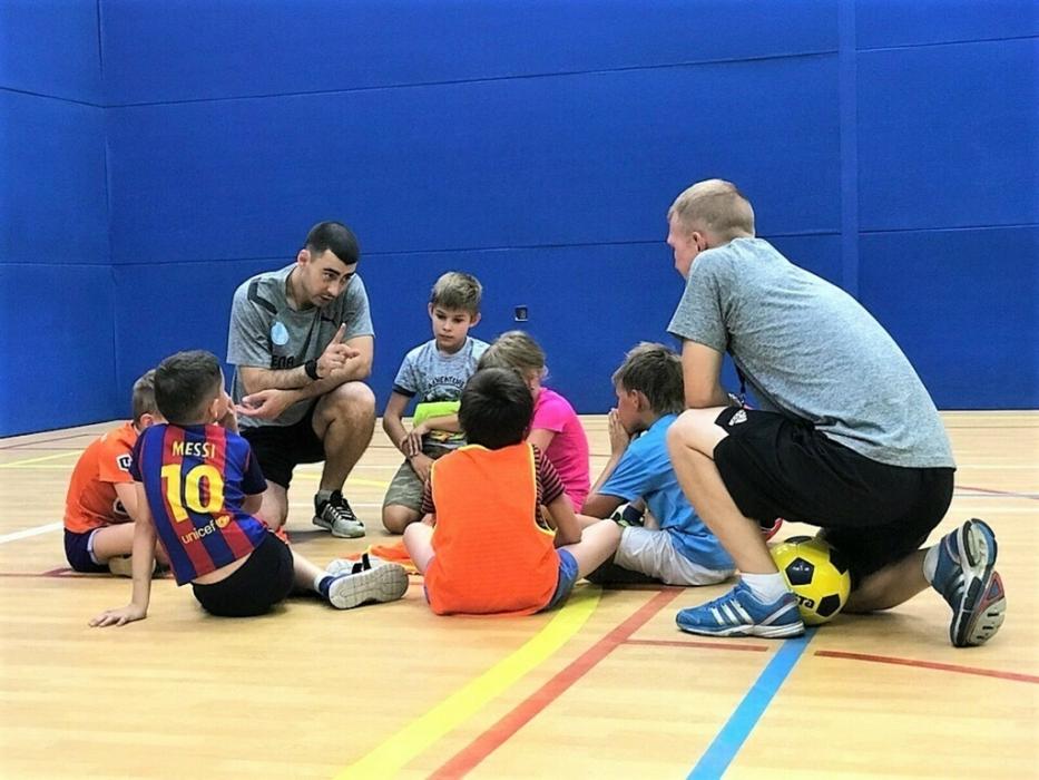 занятия футболом для детей