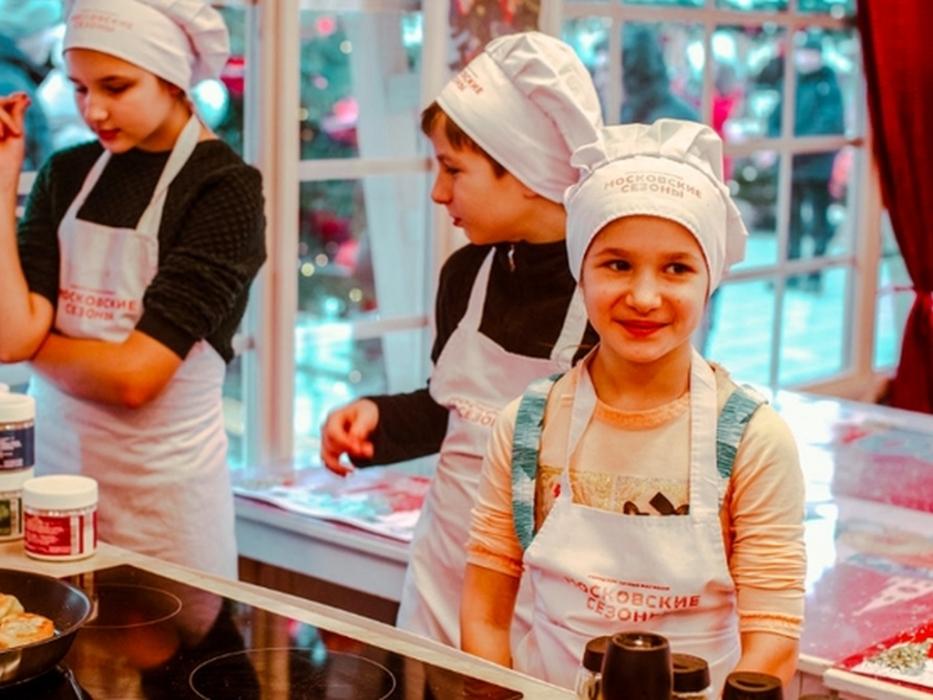 «Вкусные» мастер-классы фестиваля Путешествие в Рождество