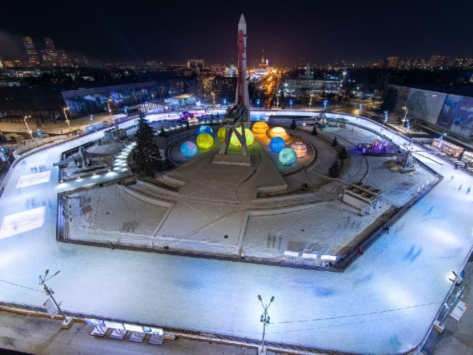 Город зимы на ВДНХ