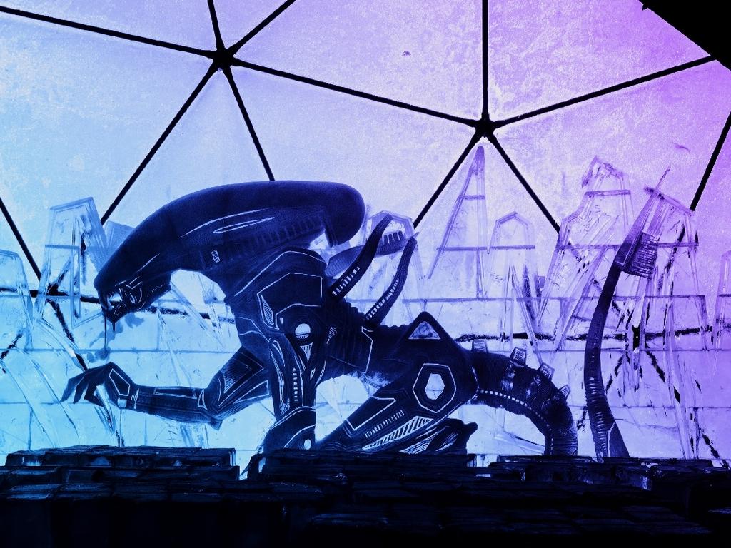 Выставка -273 °C. Ледяной космос