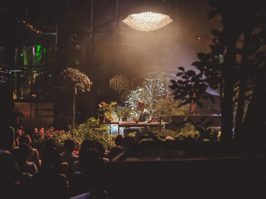 Концерт артистов Большого театра в Ботаническом саду