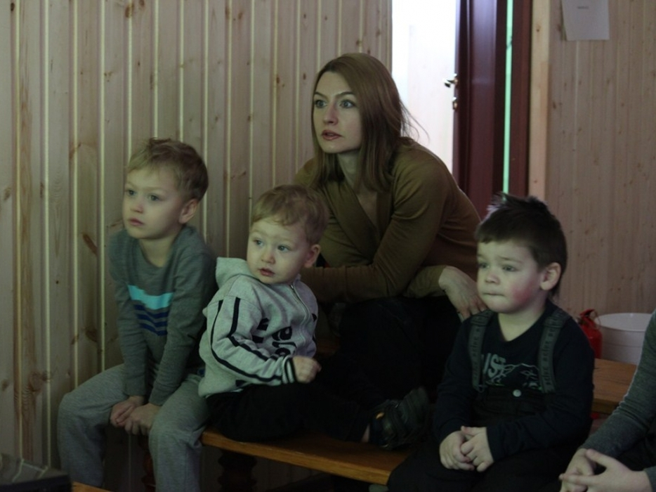 Показ мультфильмов в Кузьминках