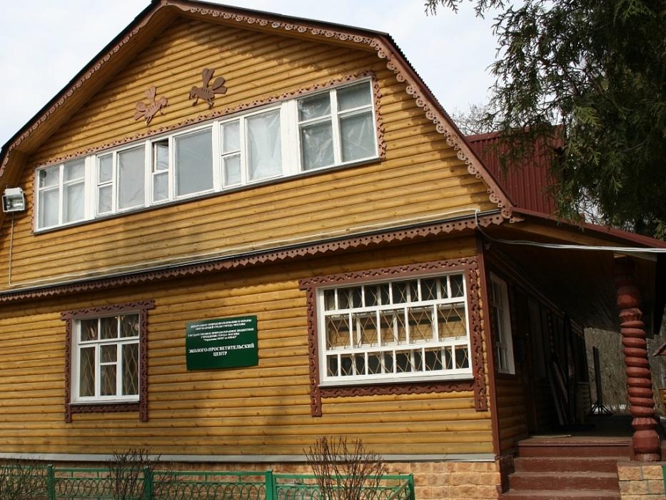 Показ мультфильмов в экоцентре Кузьминки-Люблино
