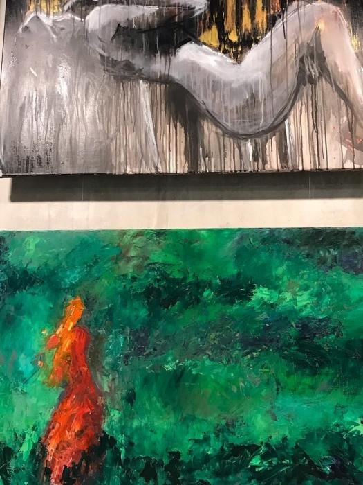 Выставка Эмоция цвета в Ботаническом саду