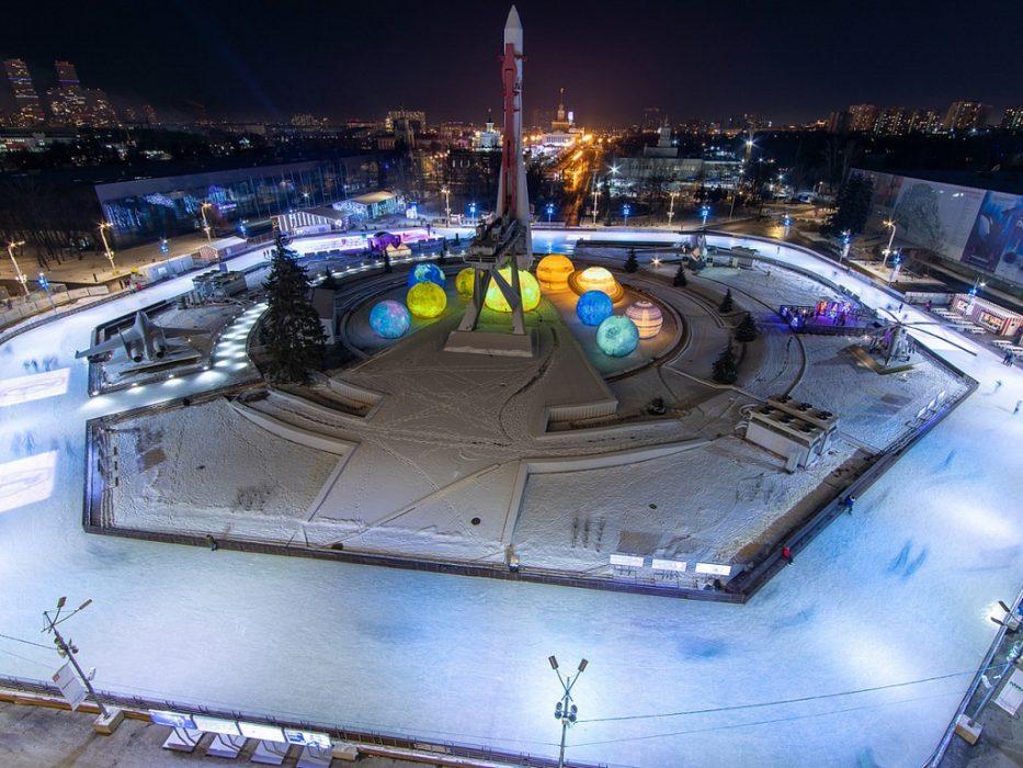 Город зимы 23 февраля