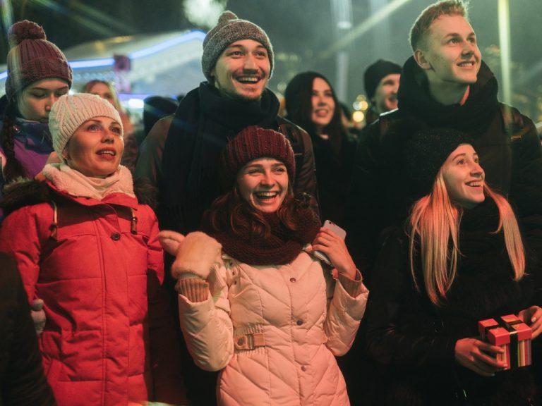 Праздник на катке Фабрика счастливых людей в честь 23 февраля