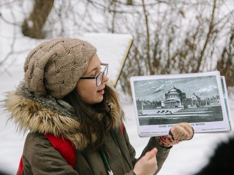 Экскурсия в парке Горького на 23 февраля