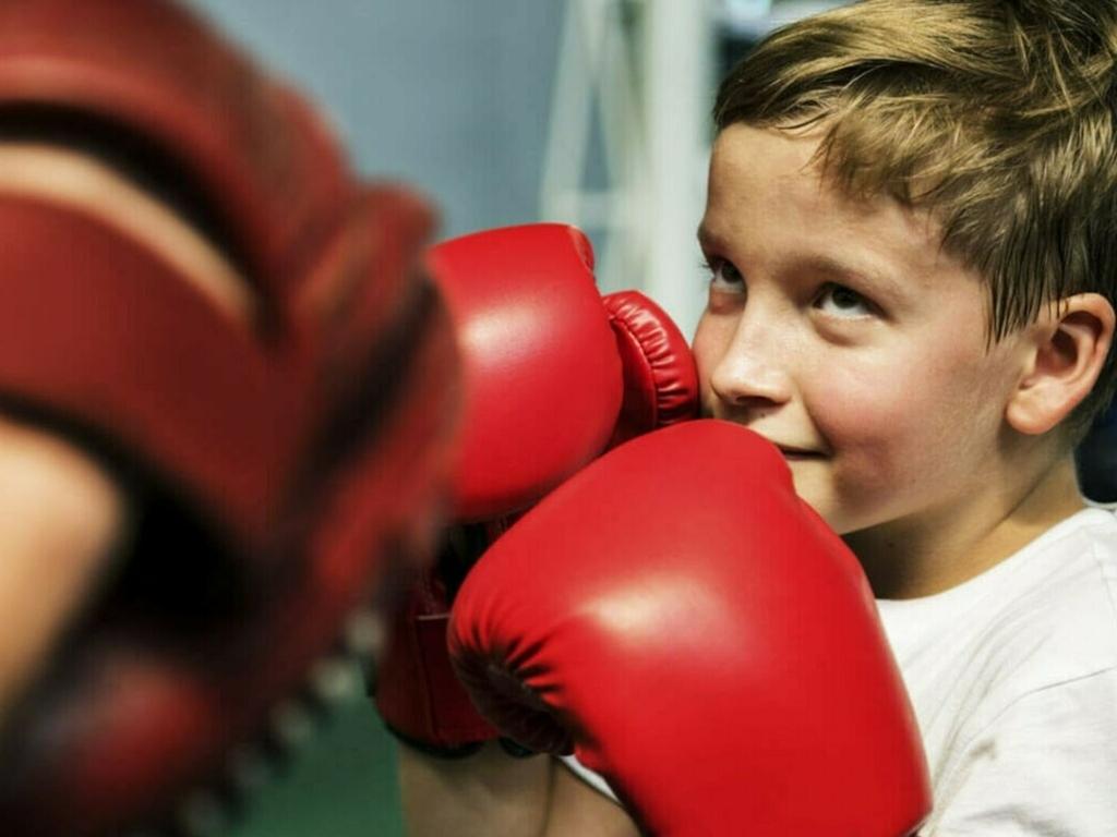 Бокс в Таганском парке