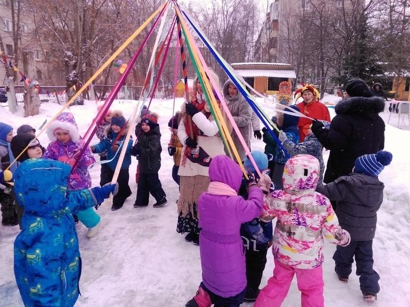 Игры и развлечения в Масленичные праздники